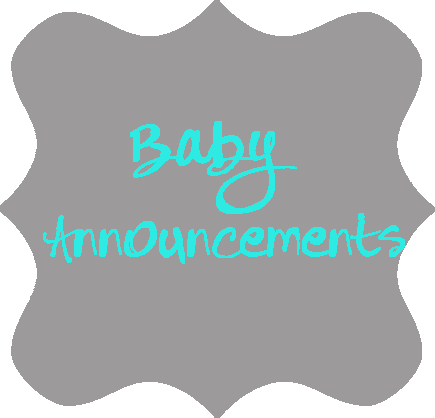 Baby Annoucements
