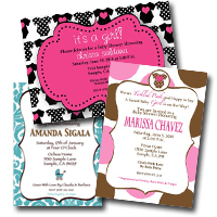Custom Invitation by Tini Posh