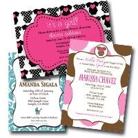 Custom Invitation by Tini Posh