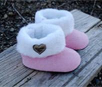 Baby Bella Maya Fur Boots